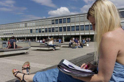 """Ein """"städtebauliches Ausrufezeichen"""" für  den Uni-Campus"""