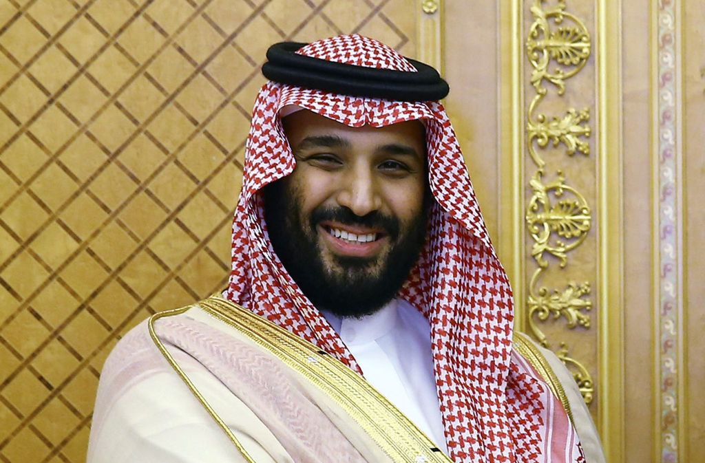 Kronprinz Mohammed bin Salman will  in nächster Zeit seinen betagten Vater an der Spitze des Königreiches beerben Foto: Presidency Press Service
