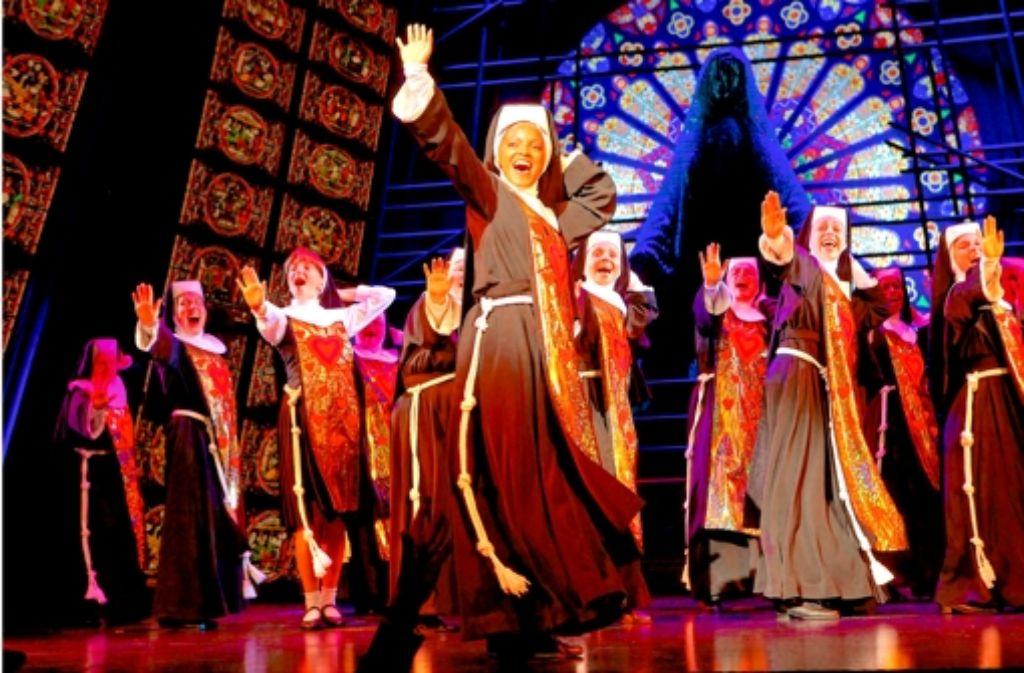 Demnächst erobern die Nonnen die Musicalbühne. Welche Musicals bereits in Stuttgart zu sehen waren zeigt die Bilderstrecke. Foto: Stage Entertainment