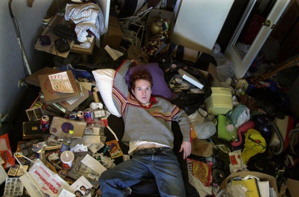 Irgendwann ertrinken Messsies im Müll. Foto: StZ/StN