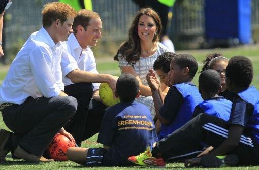 Das Prinzenpaar zeigt sich sportlich