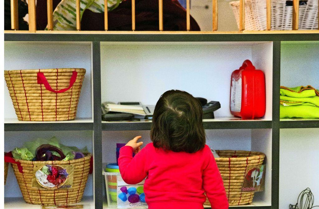 Seit Jahren stehen mehr als 3000 Kinder auf der Warteliste der Stadt Stuttgart. Foto: Lichgut Christian Hass