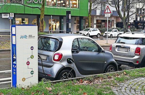 Belegte Ladestationen verärgern Elektrofahrer