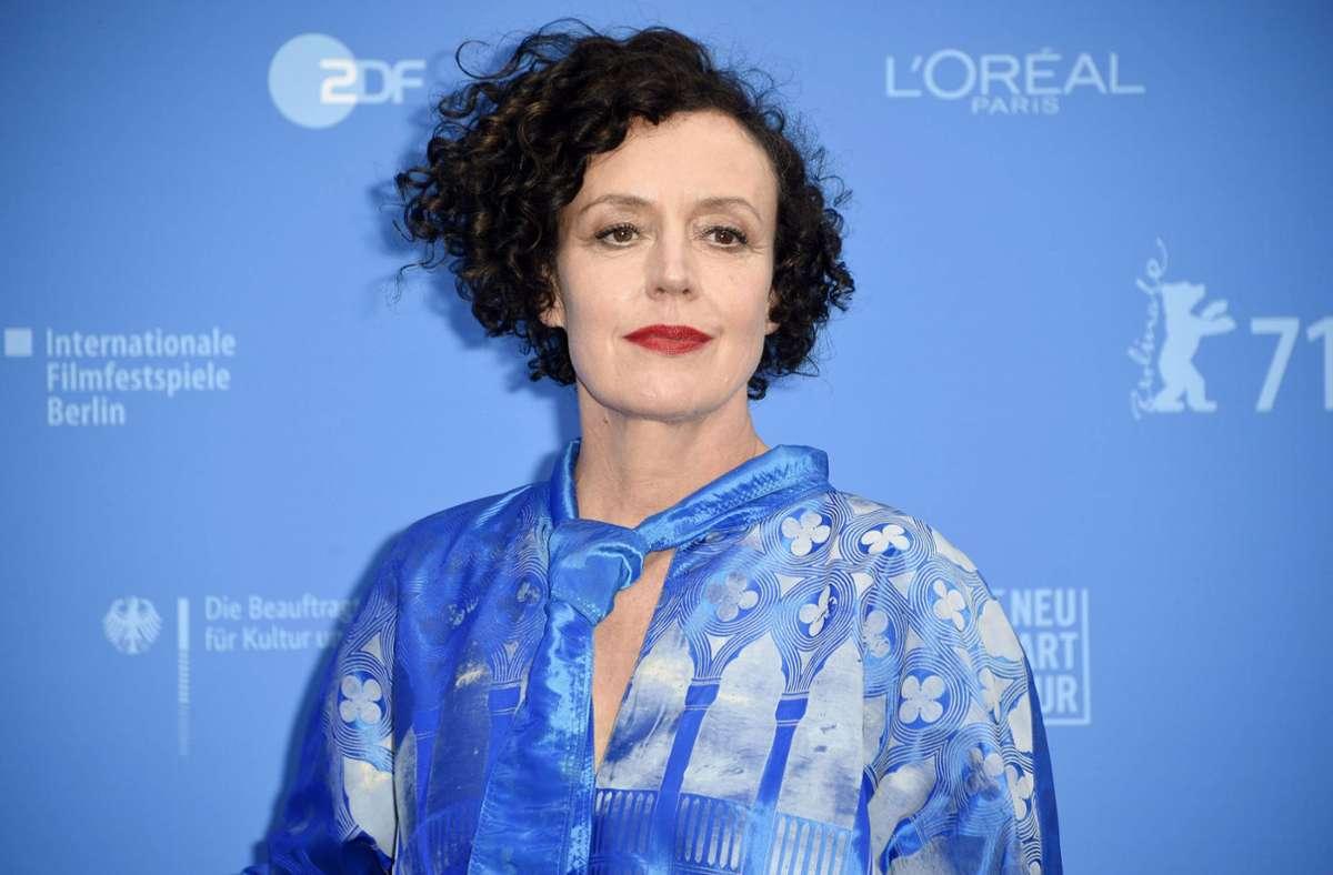 """Maria Schrader bei der Premiere des Kinofilms """"Ich bin dein Mensch"""" (Archivbild) Foto: imago images/Future Image/Nicole Kubelka"""