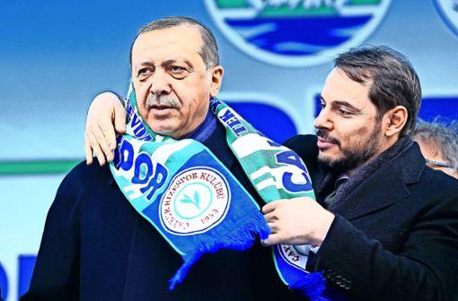 Erdogans Schwiegersohn tritt als Finanzminister zurück
