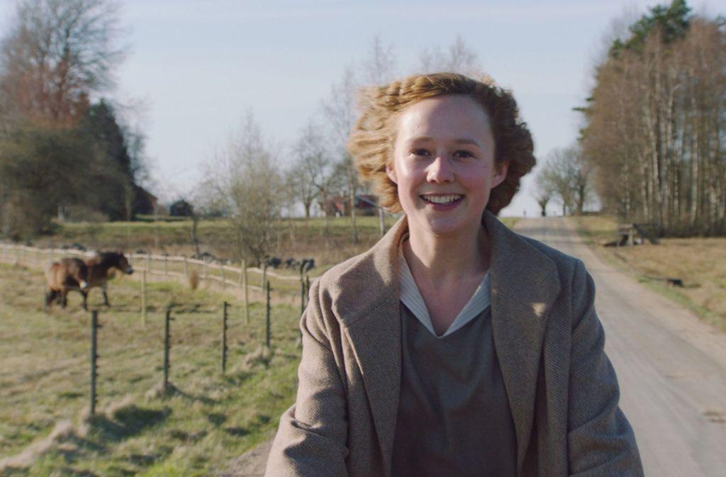 Alba August als Astrid Lindgren Foto: Verleih