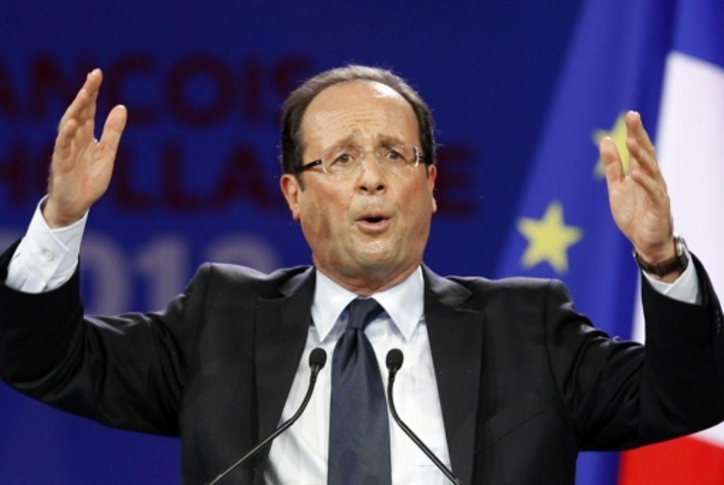 François Hollande wird Frankreichs nächster Präsident. Foto: AP