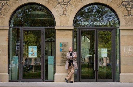 Thomas Eigenthaler hat bis Mitte 2011 neun Jahre das Finanzamt Stuttgart III geleitet – seither ist er Chef der Deutschen  Steuergewerkschaft. Foto: Stollberg