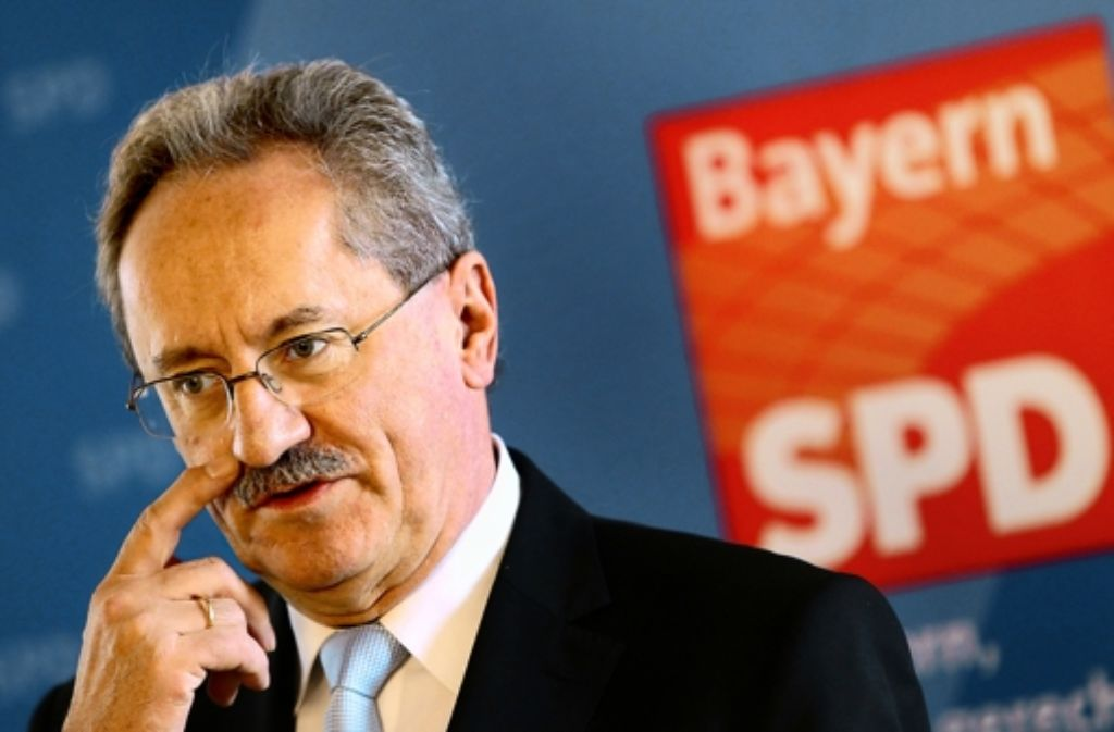 Spitzenkandidat Christian Ude. Foto: dpa