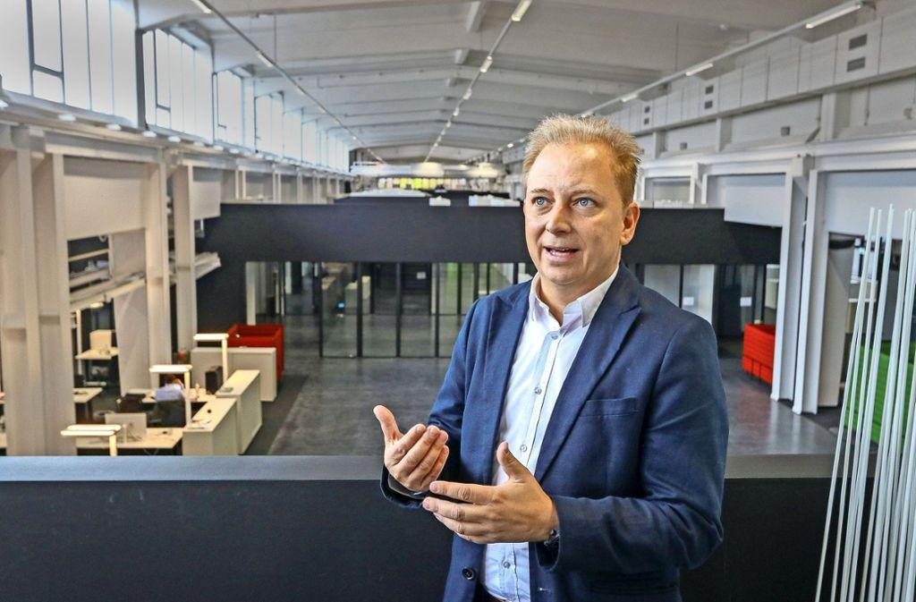Thilo Koslowski, Chef der Porsche-Digital-GmbH in Ludwigsburg. Foto: