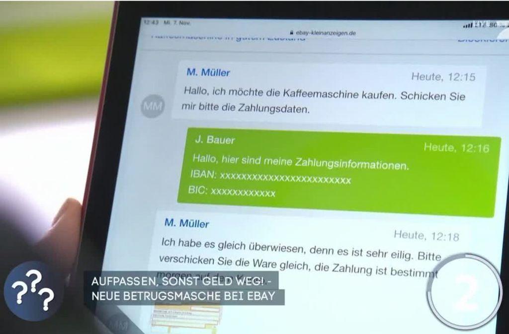 Verbraucherschützer warnen vor einer Betrugsmasche auf Onlineverkaufsplattformen. Foto: ProSieben