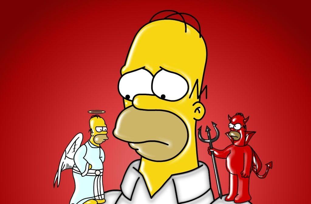 Homer Simpson ist kein Vorbild für den Wahlsonntag. Foto: dpa
