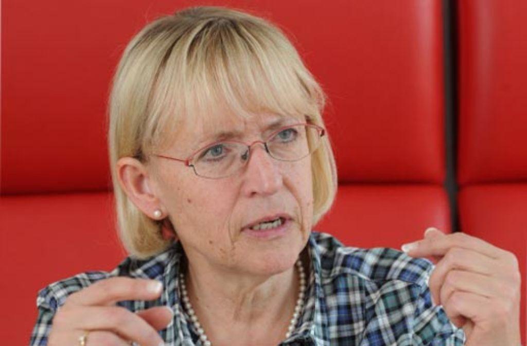 Brigitte Dahlbender (BUND) sieht trotz des Neins noch gute Chancen für das Projekt. Foto: dpa