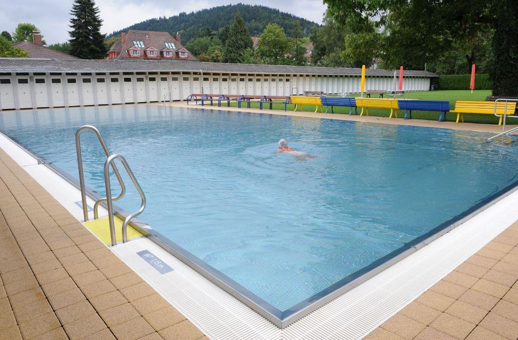 Das Freiburger Lorettobad ist Deutschlands einziges Damenbad. Foto: dpa