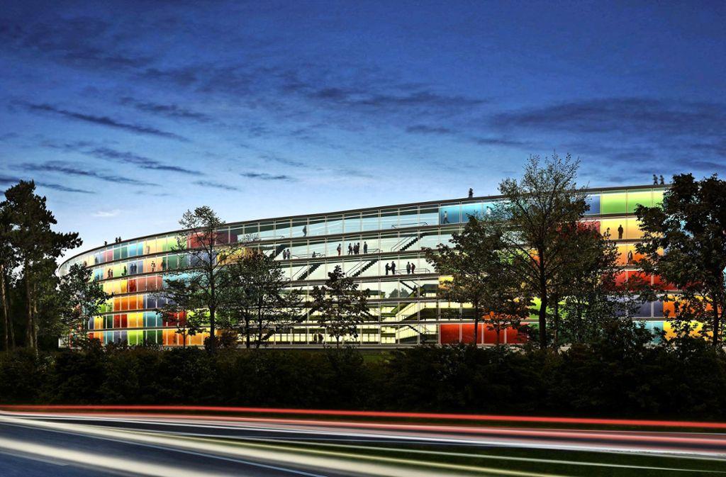 Die Vaihinger Bezirksbeiräte und die Anwohner befürchten, dass mit der Realisierung des Garden Campus der Verkehr im Stadtteil noch zunimmt. Foto: Steidle Architekten und Realgrün Landschaftsarchitekten
