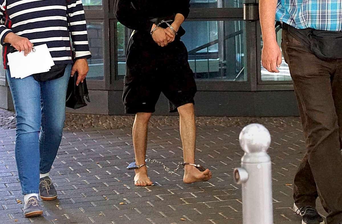 Ohne Schuhe zum Haftrichter – was steckte dahinter? Foto: 7aktuell/Andreas Werner