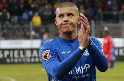Stürmer verlässt die Stuttgarter Kickers