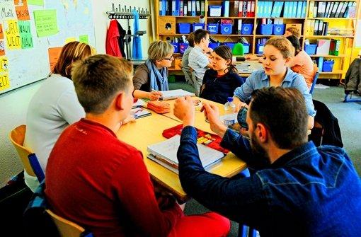 """Die Nachmittagsbetreuung an der Schule muss """"weltanschaulich neutral"""" erfolgen. Damit haben die Kirchen auch kein Problem. Dennoch gibt es einen Dissens mit der Stadt. Foto: dpa"""