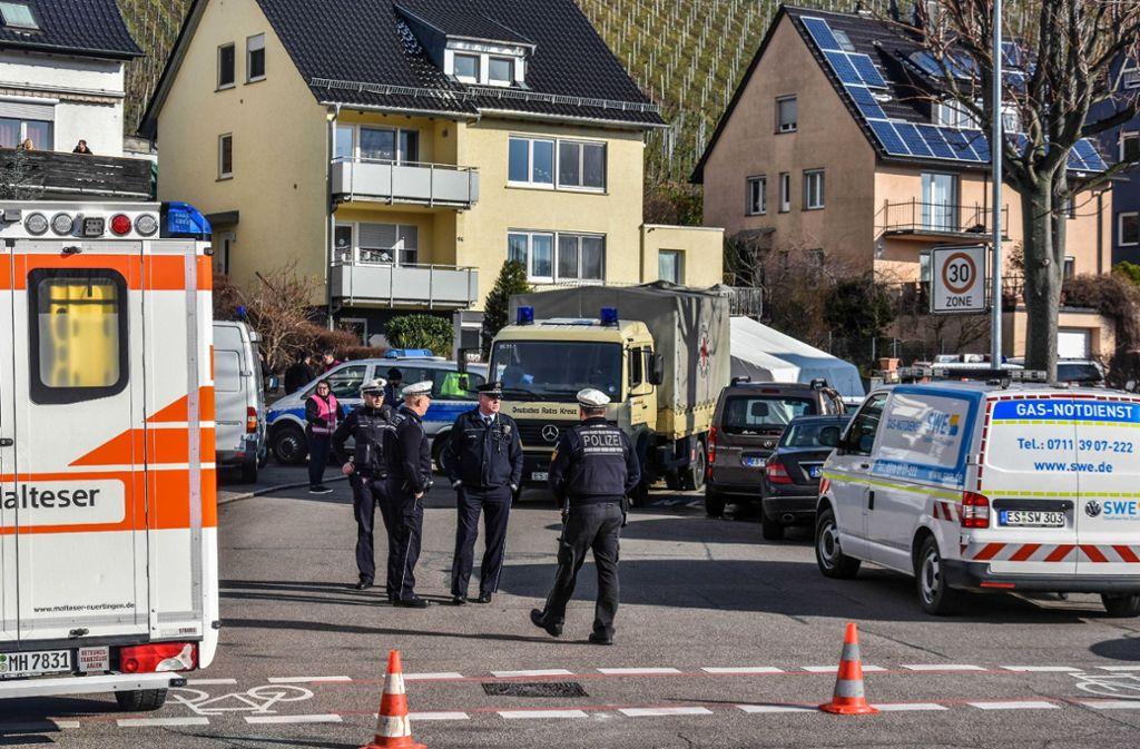 Die Polizei, Notfallseelsorger, ... Foto: SDMG