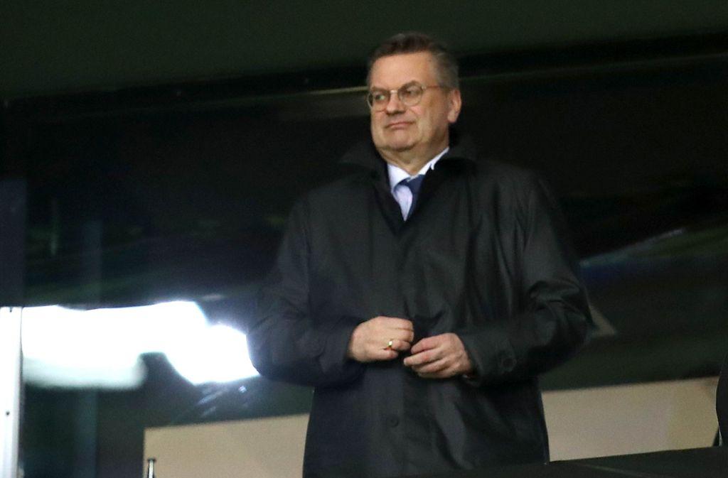 DFB-Präsident Reinhard Grindel Foto: Getty Images Europe