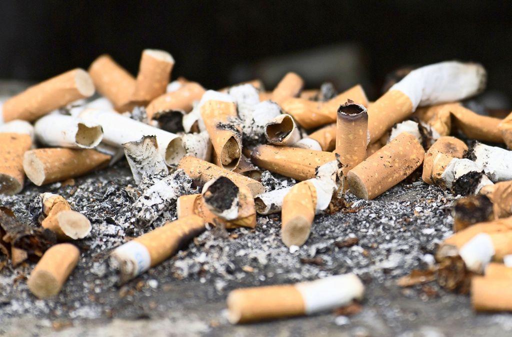 Die Täter hatten es nicht auf Zigaretten abgesehen. Foto: dpa/Ralf Hirschberger