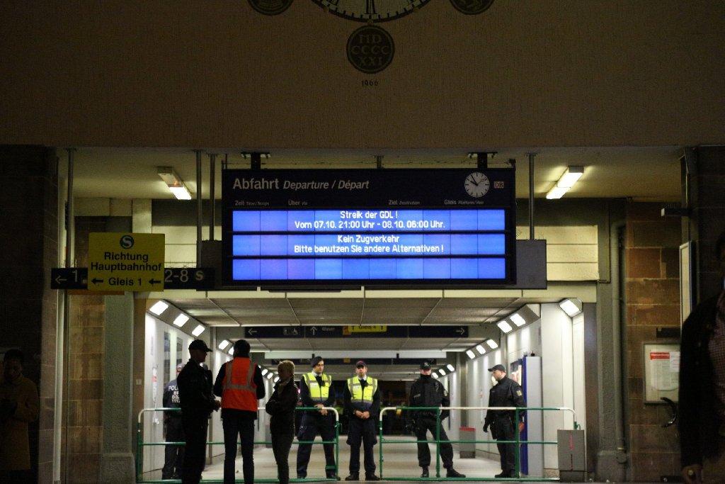 Deutsche Bahn Streik Stuttgart