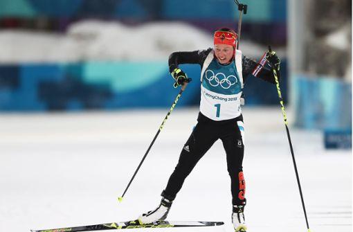 Biathlon: Dahlmeier ohne Medaille