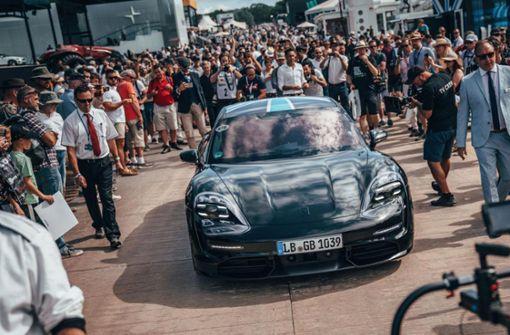 Porsche fährt voran