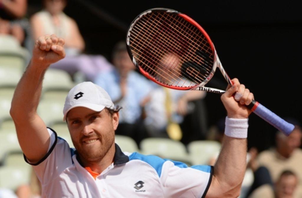 Der Stuttgarter Tennisprofi Michael Berrer ist bei den French Open am Start. Foto: dpa