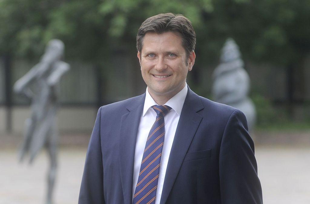 Bleibt im Freiberger Rathaus: Dirk Schaible wird nicht neuer Landrat in Konstanz. Foto: privat