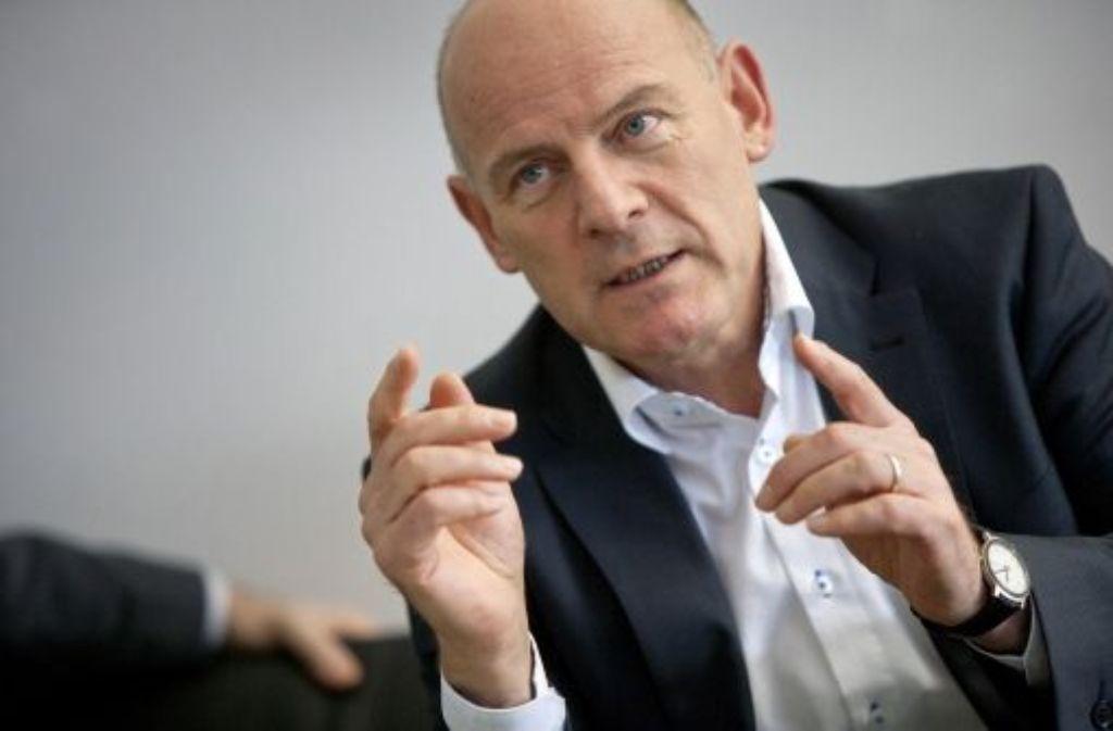 Eindeutig Ja – Winfried Hermann will eine neue Verkehrspolitik umsetzen. Foto: Steinert