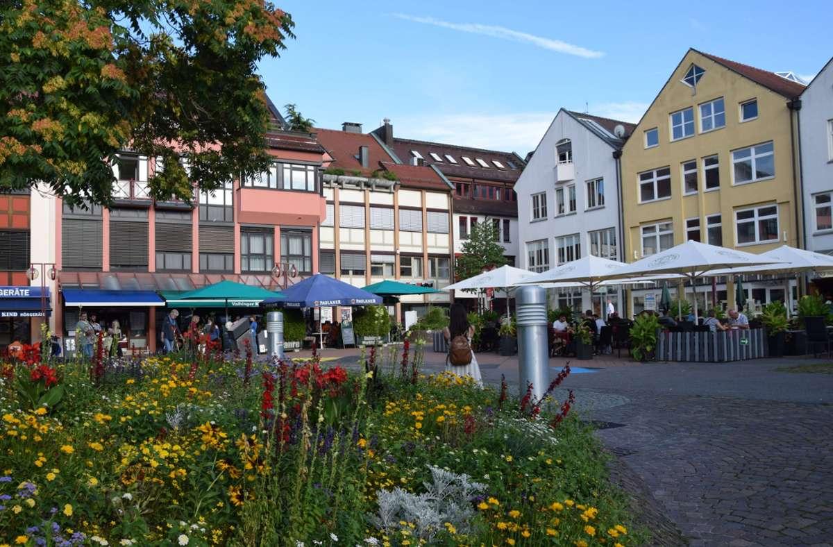 Der Vaihinger Markt soll attraktiver werden. Foto: Alexandra Kratz/Archiv