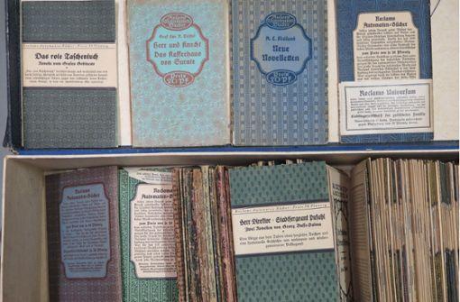 Marbach erwirbt  Archiv des Reclam-Verlags