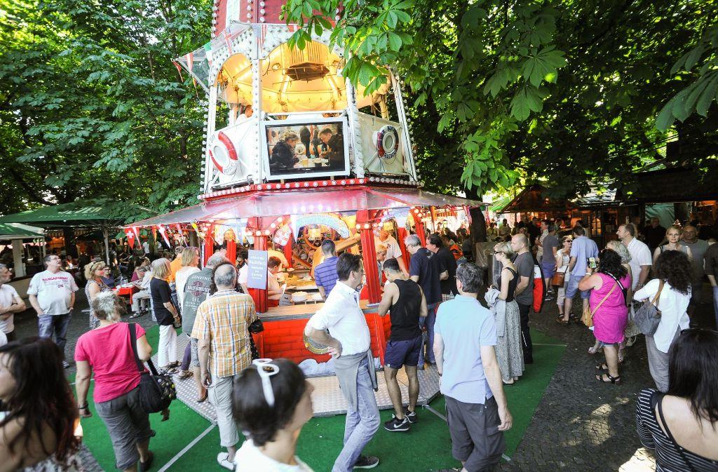 Hamburger Händler werden  am 6. Juli zum  30. Fischmarkt in Stuttgart erwartet. Foto: 7aktuell.de