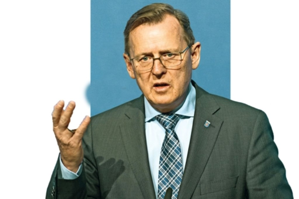Thüringens Ministerpräsident Bodo Ramelow.  Foto: dpa-Zentralbild