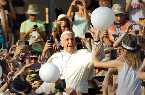 Den Papst hautnah erleben