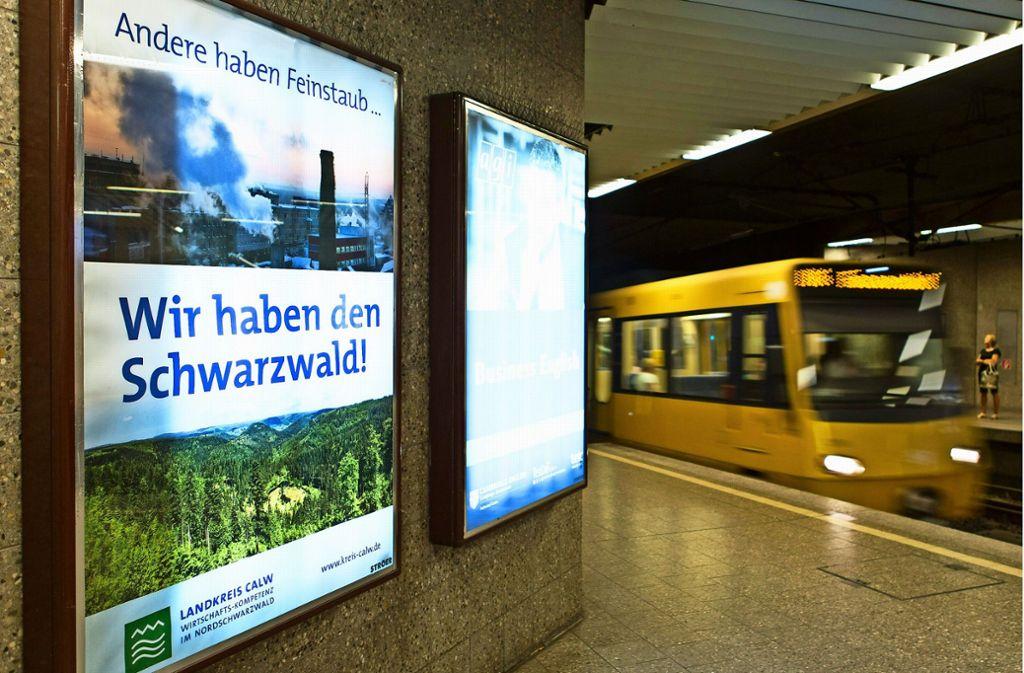 Das Landratsamt Calw sieht die Hesse-Bahn als Beitrag zur Feinstaub-Reduzierung in der Region Stuttgart. Foto: dpa