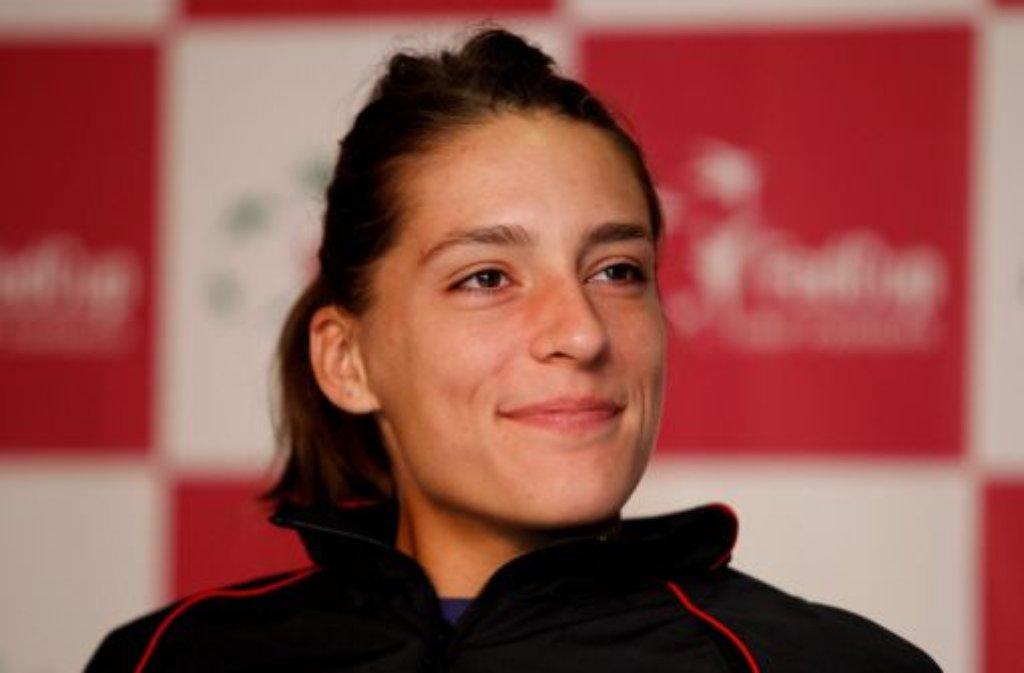 In Stuttgart - und derzeit sogar in ganz Deutschland - dreht sich in Sachen Tennis alles um Andrea Petkovic: Die 23-Jährige aus Darmstadt ist momentan ... Foto: dapd