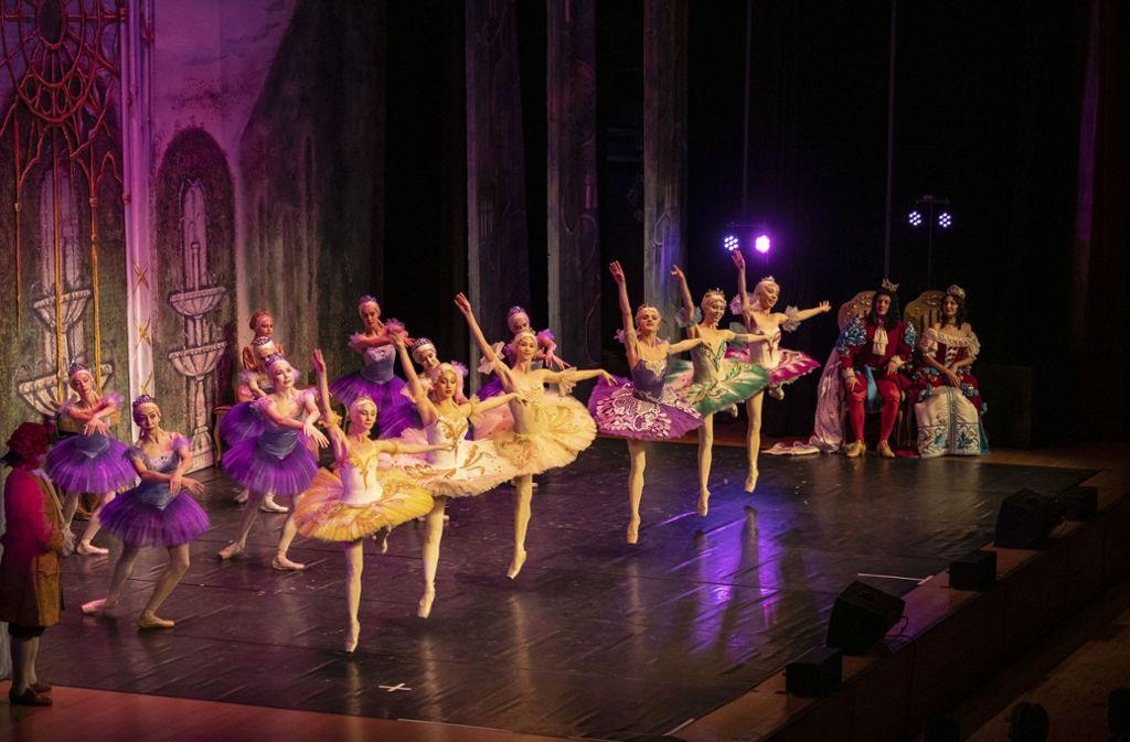 Das russische Nationalballett in der Stadthalle: Geht es nach dem OB, treten die Tänzerinnen in einigen Jahren auf einer völlig neuen Bühne auf. Foto: factum/Weise