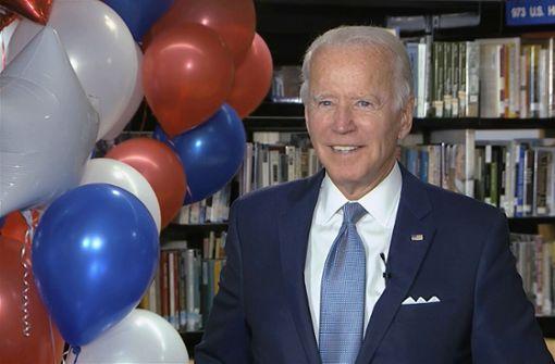 Joe Biden ist nun offiziell Präsidentschaftskandidat der Demokraten