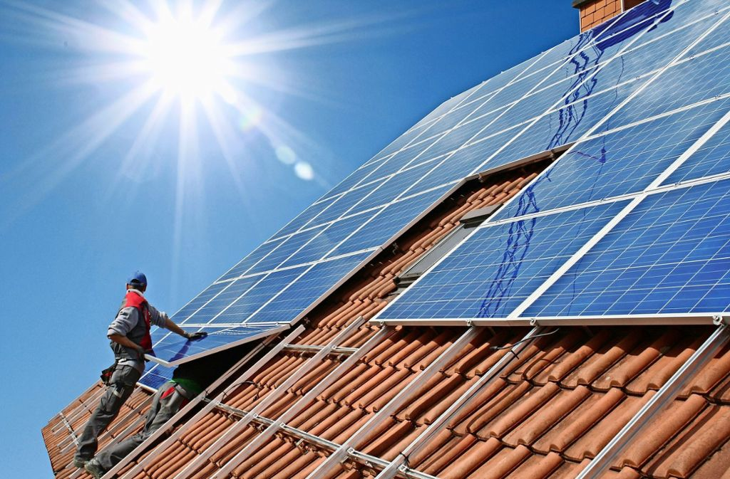 Leonberg erntet mehr Sonnenenergie. Foto: fotolia