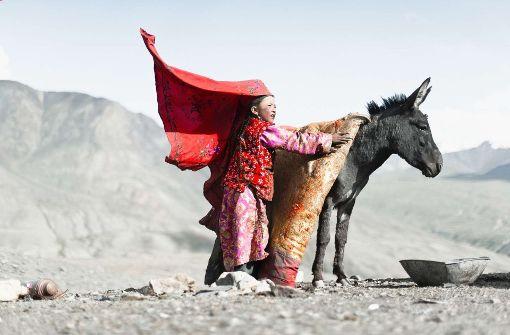 Menschen der Berge