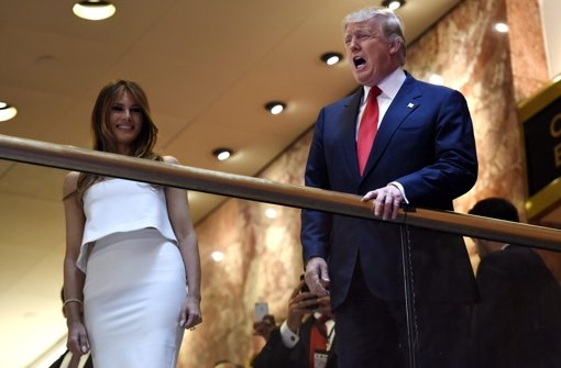 Auch Donald Trump will Präsident werden