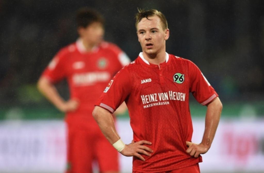 Hannover 96 muss unter anderem auf Uffe Bech verzichten. Foto: Bongarts