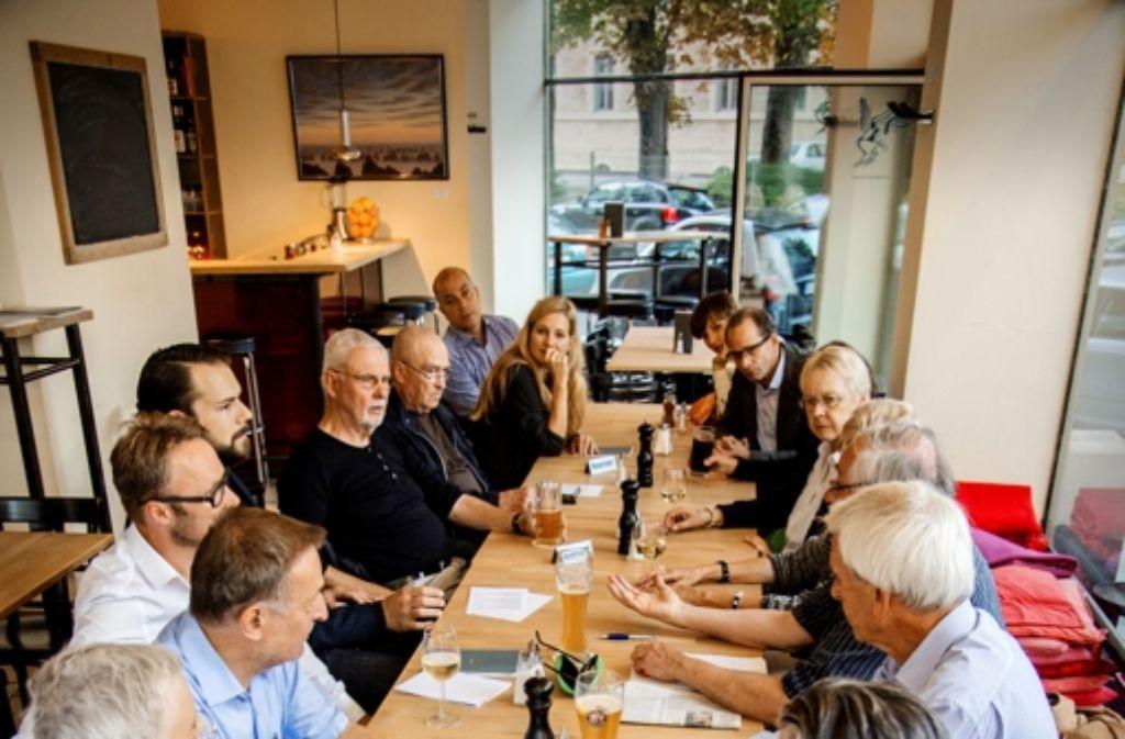 Kneipenabend im Café Heller Foto: Stollberg
