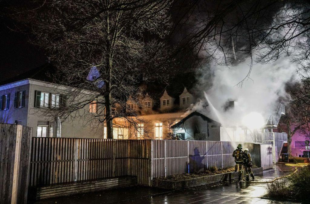 Die Freiwillige Feuerwehr Wendlingen musste am Mittwochmorgen zu einem Brand ausrücken. Foto: SDMG/SDMG / Kohls