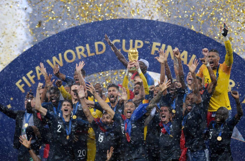 Frankreich krönte sich im Sommer zum neuen Fußball-Weltmeister. Foto: NOTIMEX