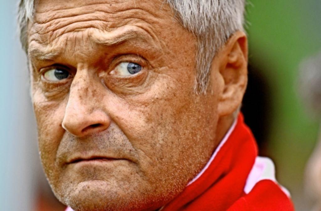 Armin Veh will mit dem VfB nicht nur Tabellenzwölfter werden. Bilder zur Karriere des VfB-Trainers gibt es in unserer Bildergalerie. Foto: Getty