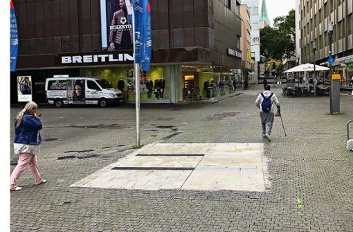 Erster Test für Marktplatz-Belag in Stuttgart gescheitert