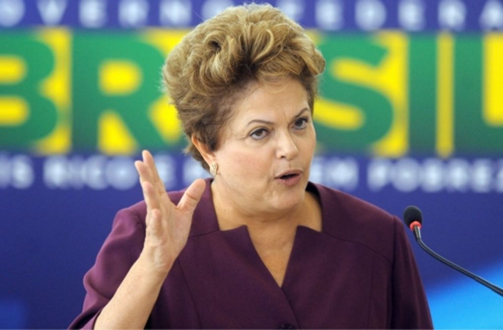Präsidentin Rousseff muss trotz Umfragetief nicht um die Neuwahl fürchten. Foto: dpa
